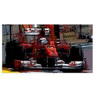 Print   Fernando Alonso   Ferrari