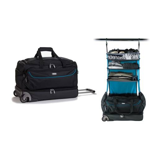Roller Duffle Bag   Black&Blue