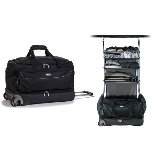 Roller Duffle Bag | Black&Grey