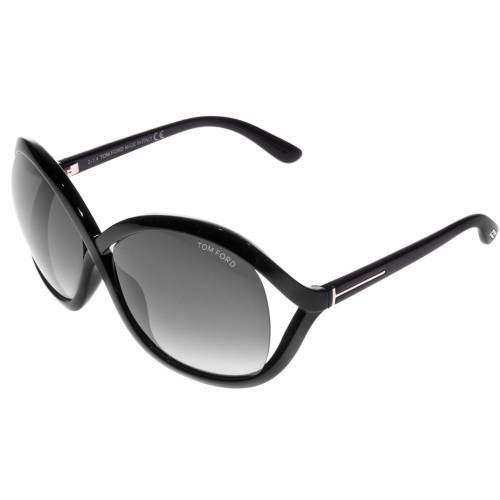 Tom Ford FT0297 01B Sandra Butterfly Sunglasses