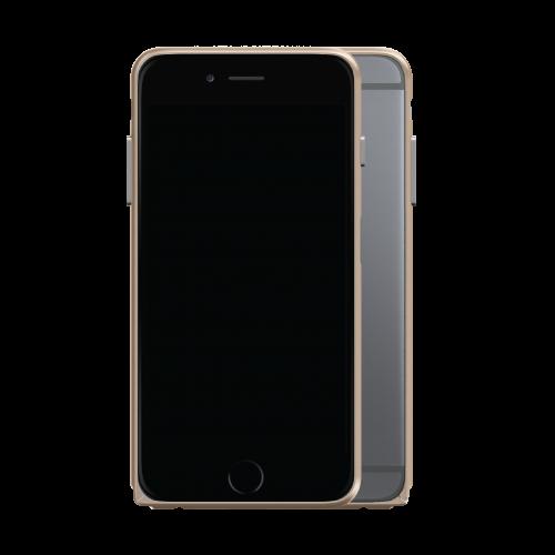 Slim Aerospace Aluminum Bumper for iPhone 6s Plus, Champagne