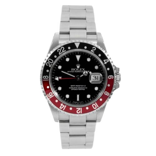 Rolex Men's Stainless Steel GMT-Master II