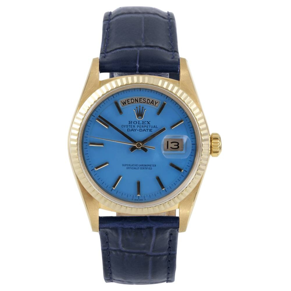 Rolex 18K Yellow Gold Day Date Watch