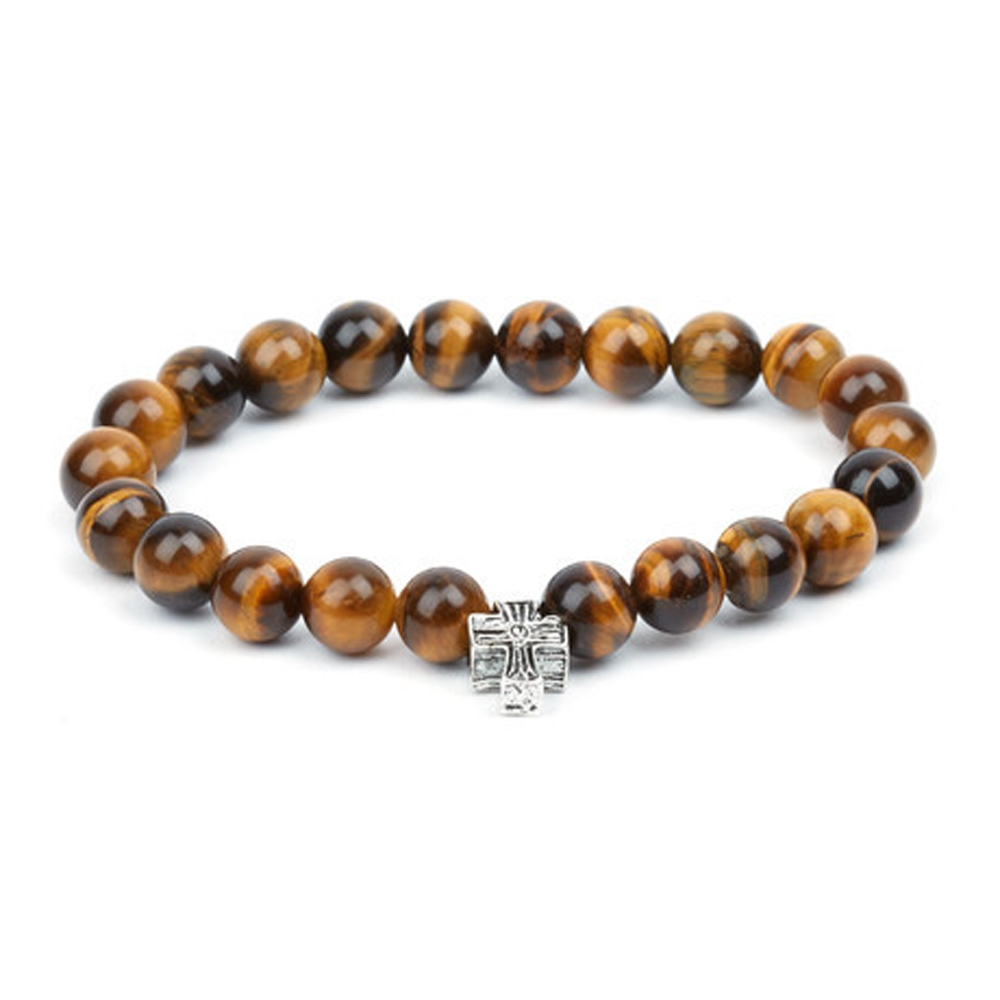 Tiger's Eye Temple Bracelet - Buttigo