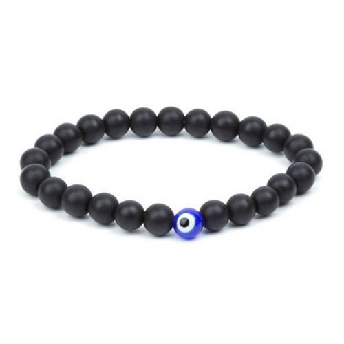 Matte Black Onyx Bead