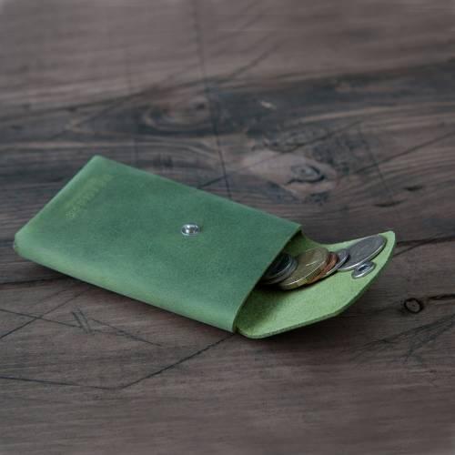 Green Snap Wallet - Grams28