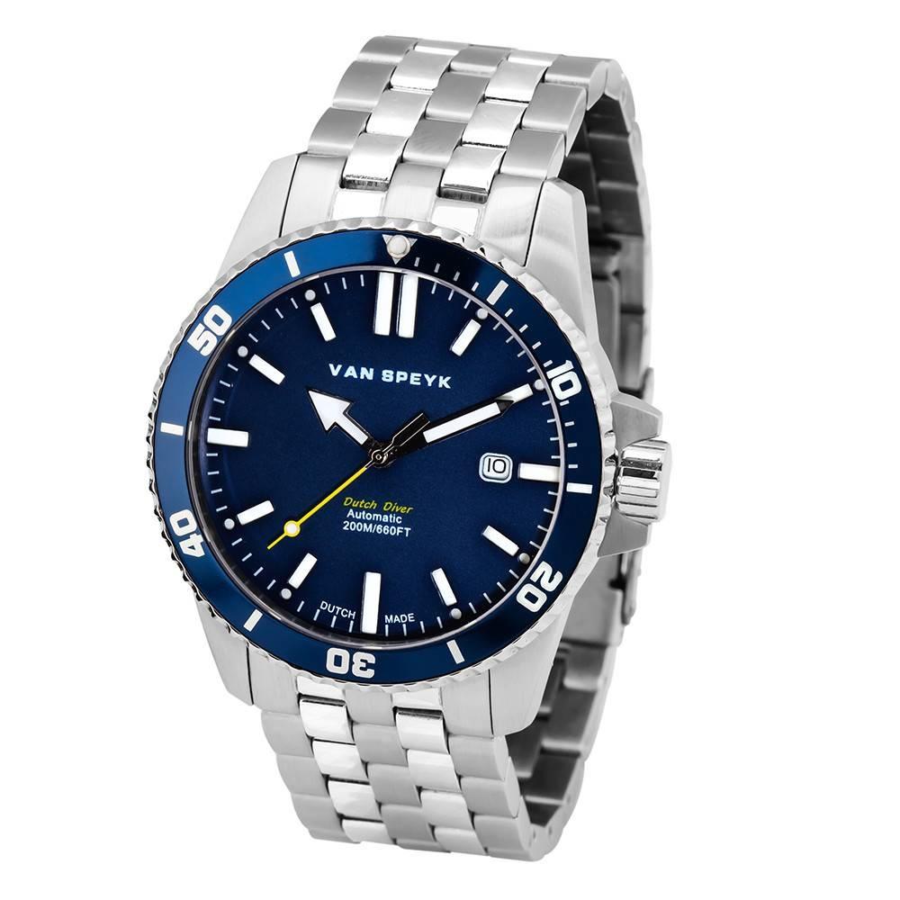 Van Speyk Blue Dutch Diver Watch