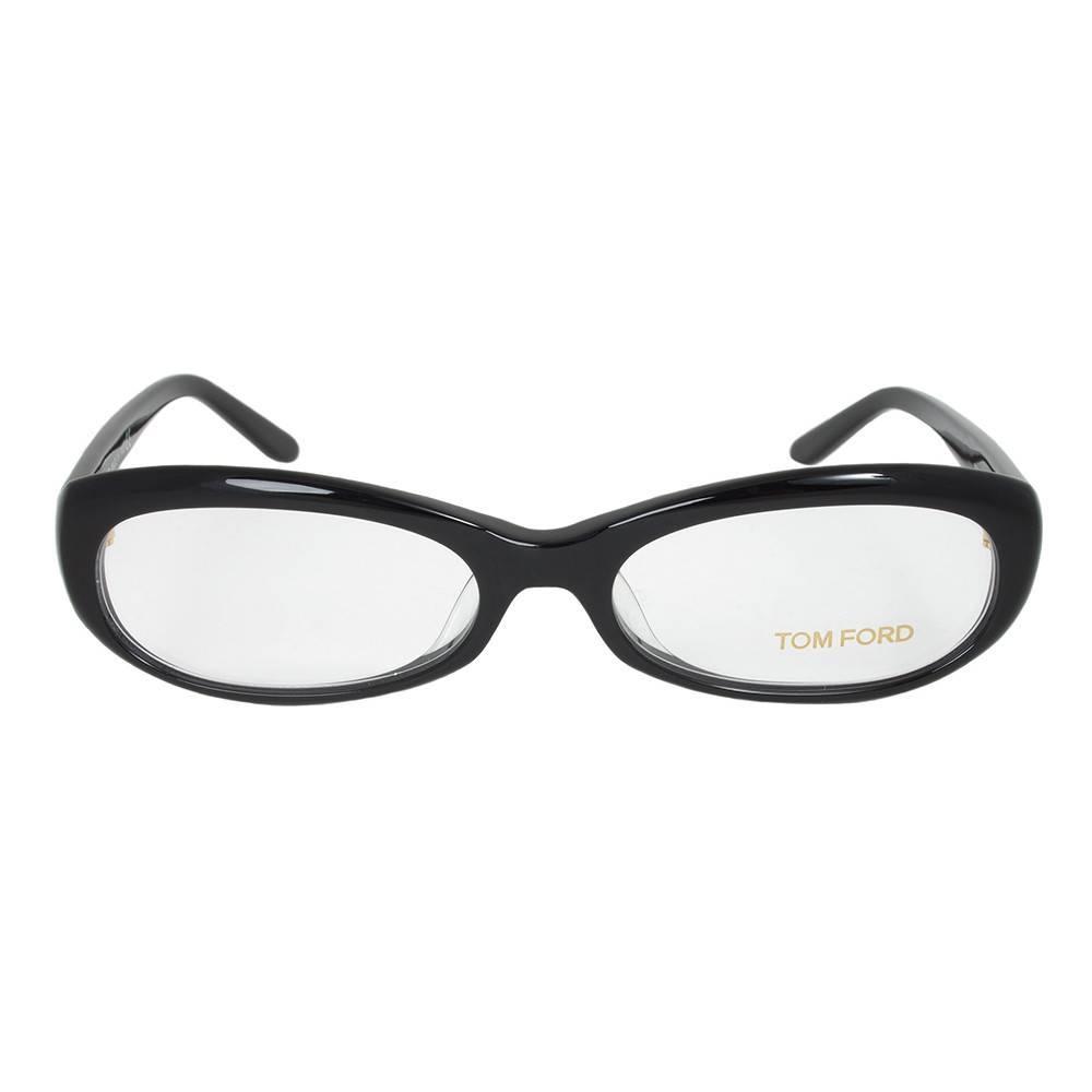 Black Oval  Eyeglasses Frame | Size 53