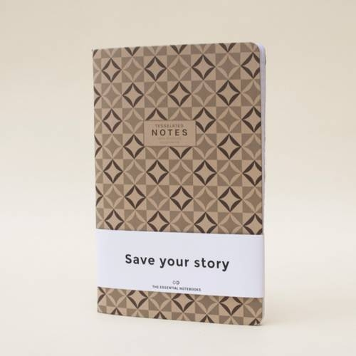 Tesselated Notes | Set of 3
