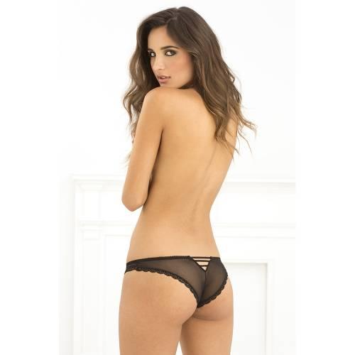 Lace V-back panty