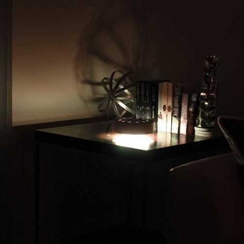 Cfab | Black shh3-lite color changing lamp