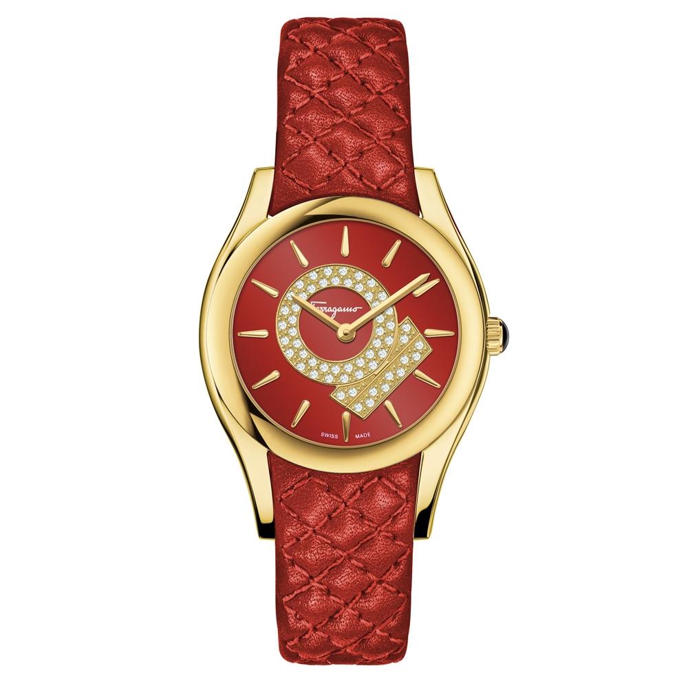 Ferragamo   Lirica Christmas Women's Watch