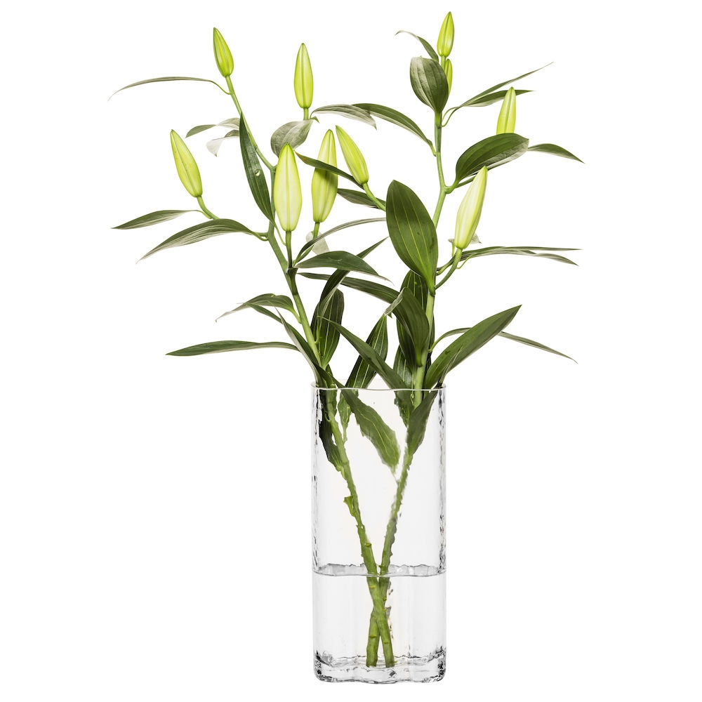 Clear Siluett Tall Vase | Sagaform