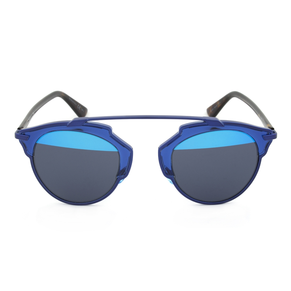 Dior KMA8T Sunglasses   Blue/Havana Frame