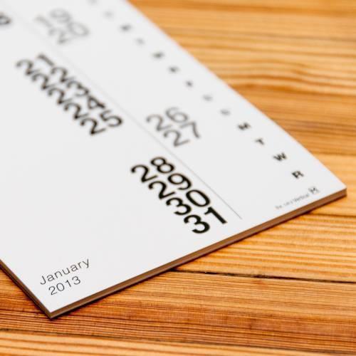 Mini Vertical Calendars Set of 2   Nack Studio