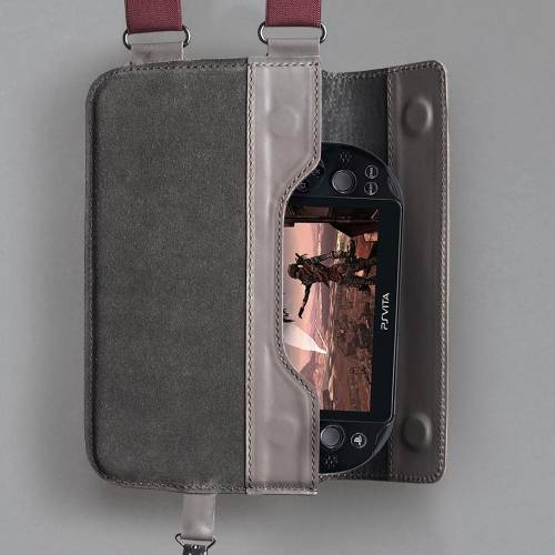 Carter Gear | Gray Leather Shoulder Holster
