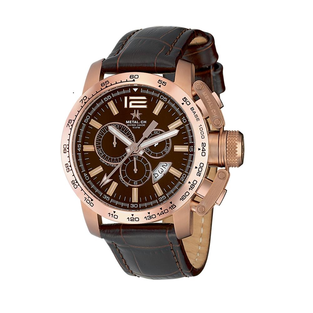 Metal CH Watch | Chronosport 4340