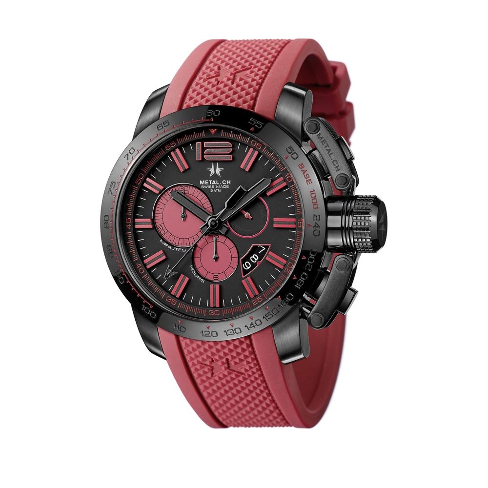 Metal CH Watch   Chronosport 4470