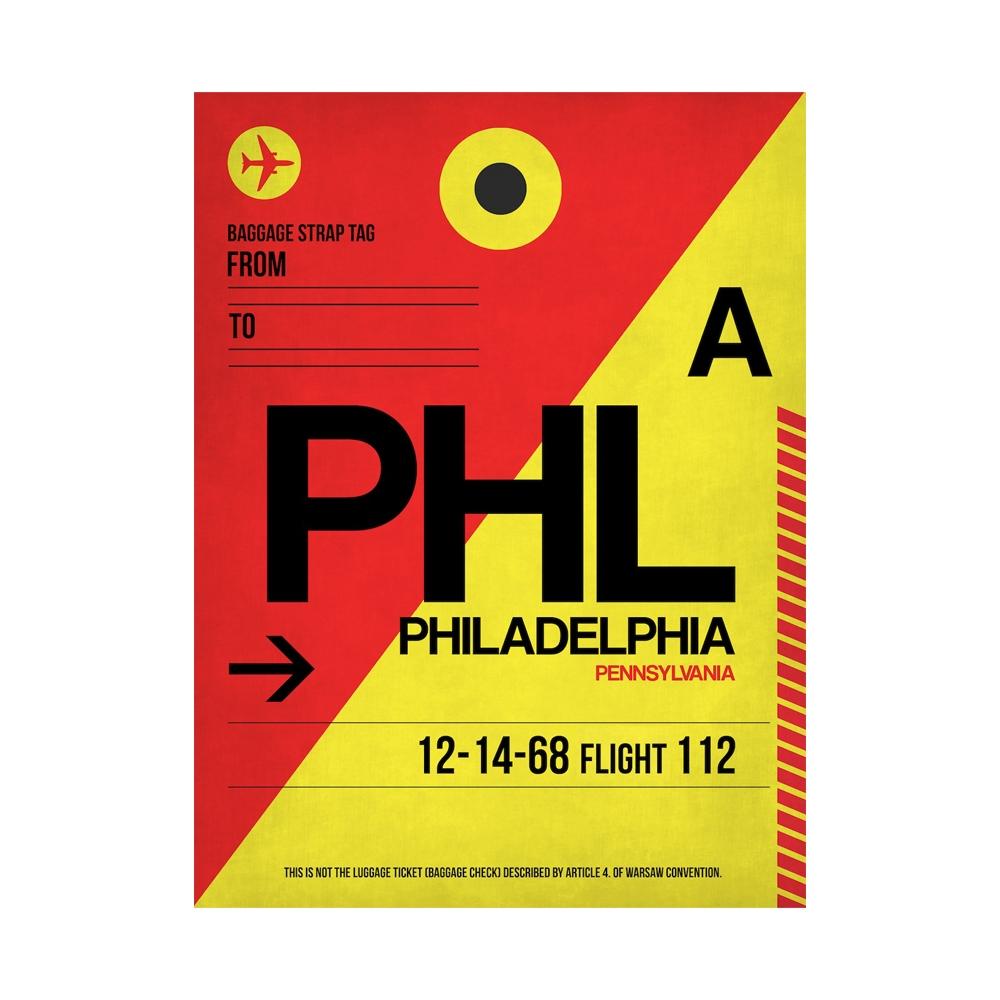NaxArt   PHL Philadelphia Poster