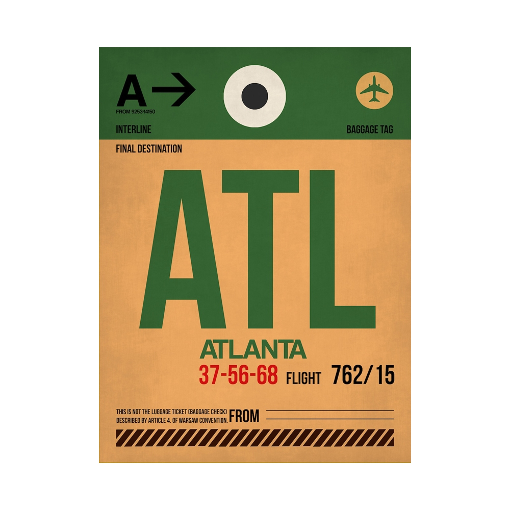 NaxArt   ATL Atlanta Poster