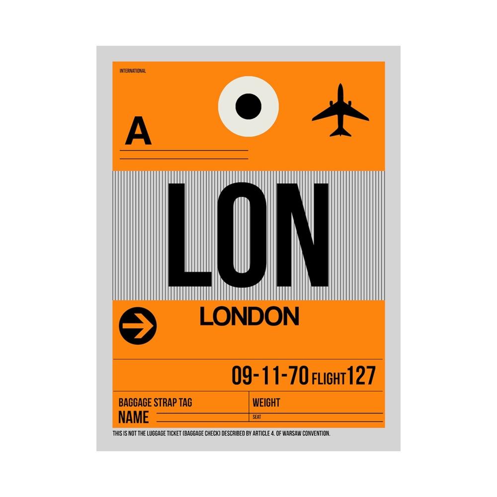 NaxArt | LON London Poster
