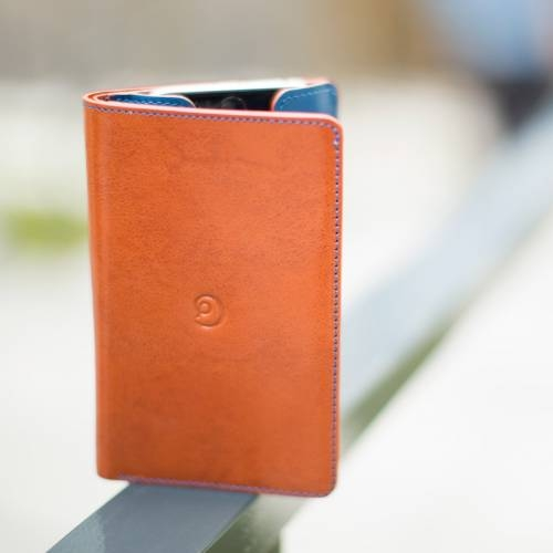 Brown Leather iPhone 6 Wallet Case   Danny P