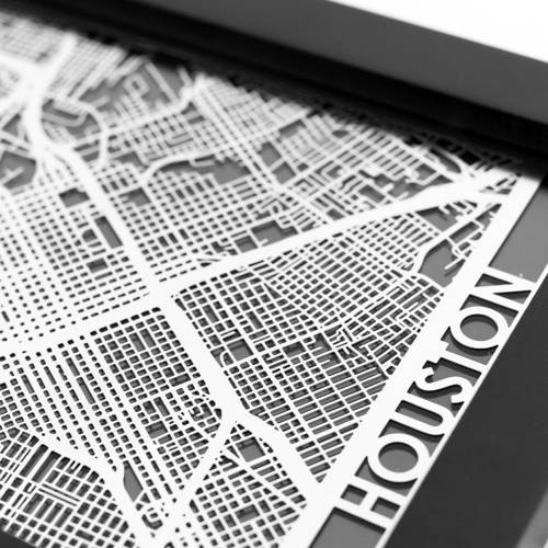 Houston   Cut Maps