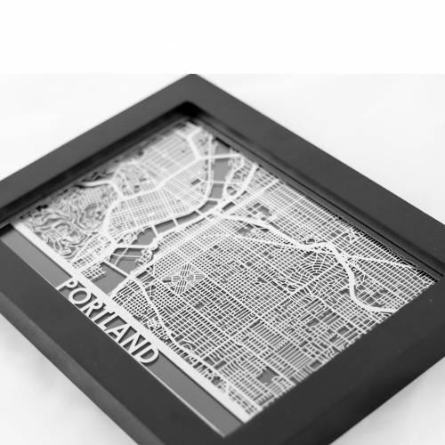 Portland | Cut Maps