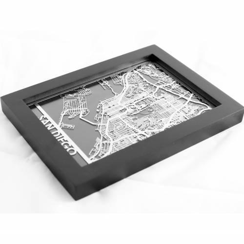 San Diego | Cut Maps