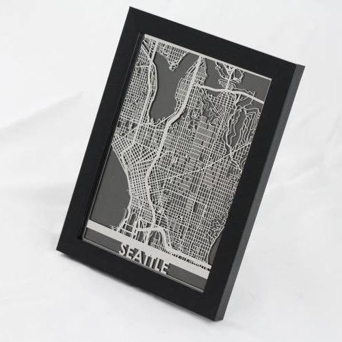 Seattle | Cut Maps