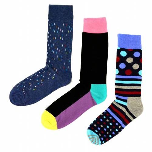 Socks | Colorful Stripes and Polka Dots | Happy Socks