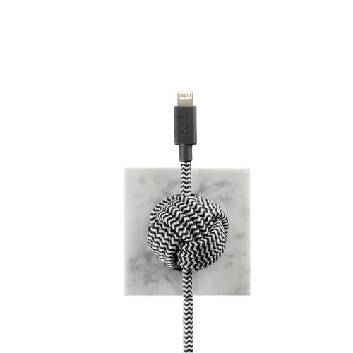 Marble Luxury Night Cable   Native Union   Lightning (Apple)