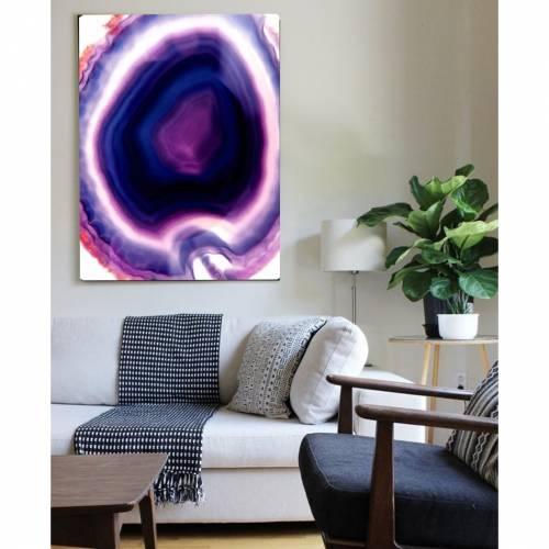 Purple Rain Canvas Print | Vivienne East