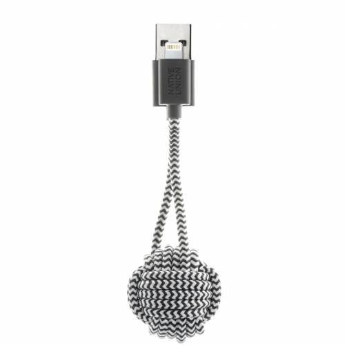 Key Lightning Cable | Zebra | Native Union