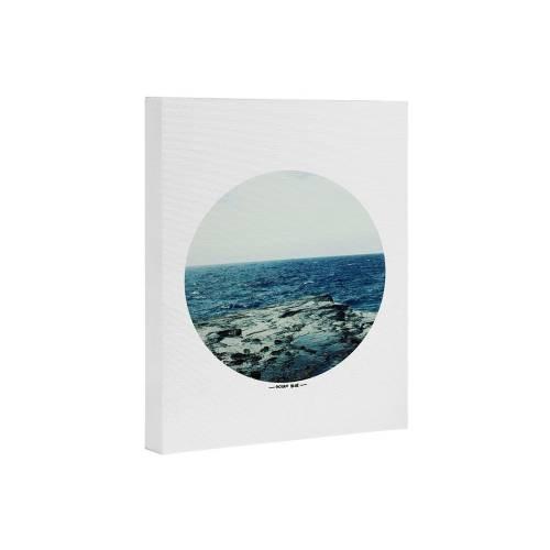 Leah Flores Ocean Blue Art Canvas