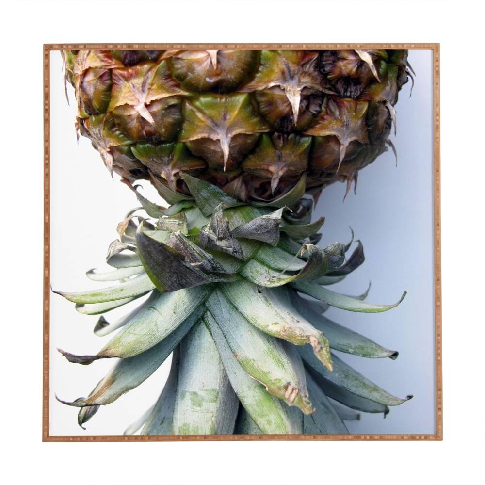 Pineapple 2 Deb Haugen Framed Wall Art   Deny Designs