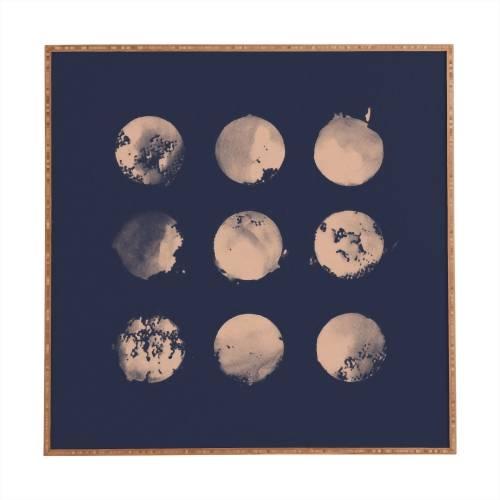 Douze Lunes Florent Bodart Framed