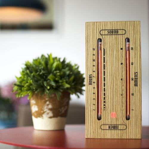 The Luminous Electronic Bargraph Clock