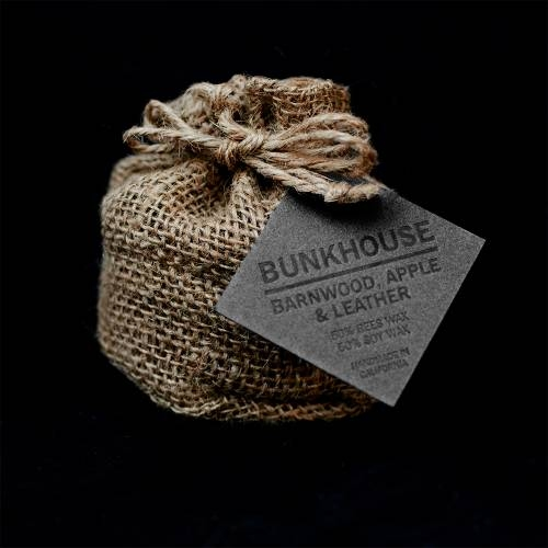 Bunkhouse - Barnwood Apple Leather  Wild Well Supply Candles