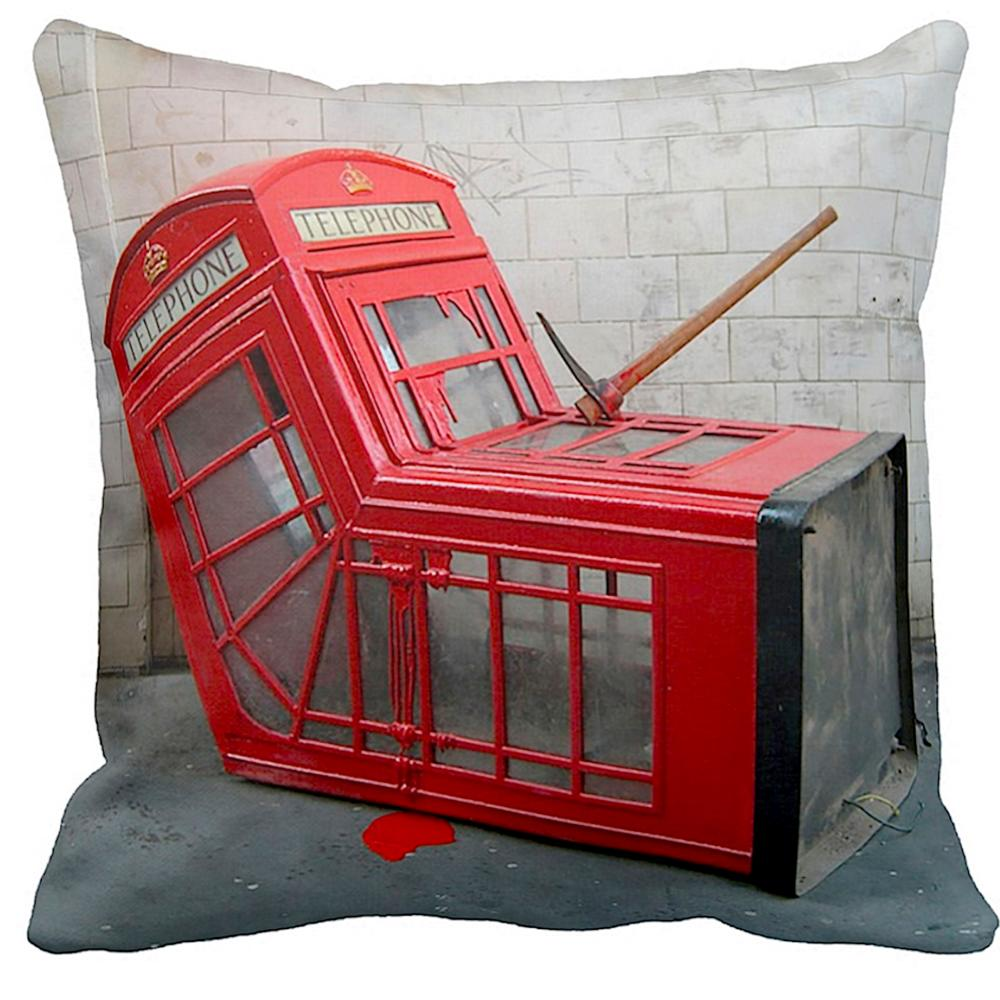 Telephone Box | Banksy Art | iLeesh