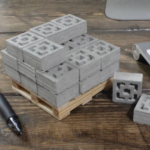1:12 Breeze Blocks: 24 Pack | Pallet | Mini Materials