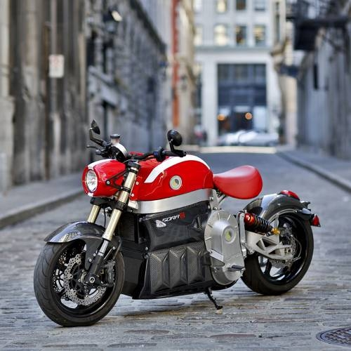 Sora Electric Motorcycle | Red