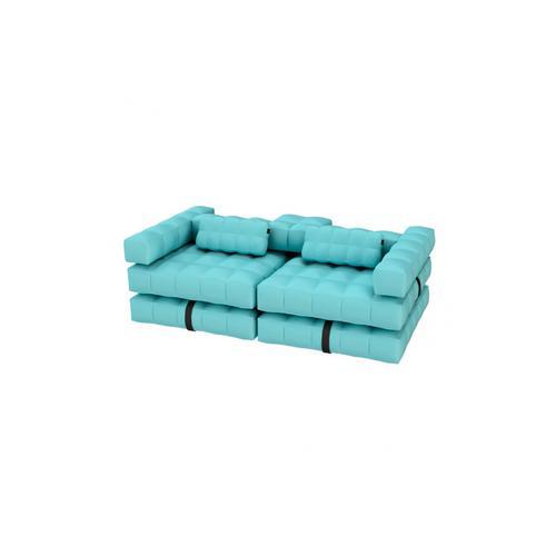Sofa Set   Aqua Blue