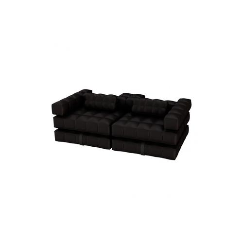 Sofa Set | Matte Black