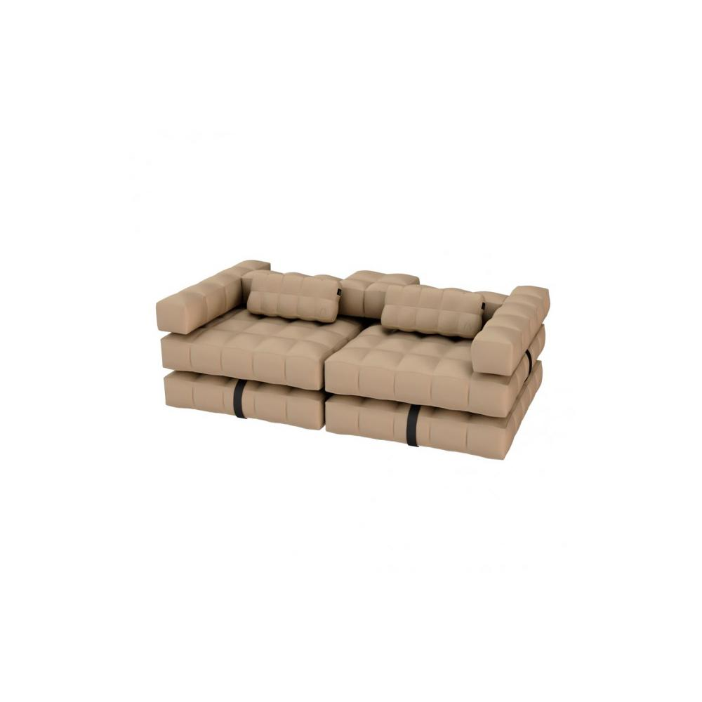 Sofa / Double Lounger Set   Sand   Pigro Felice