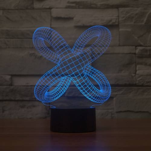 3D Illusion Table Lamp | Butterfly | Coocepts Lighting - Illusion Table Lamp Butterfly Coocepts Lighting