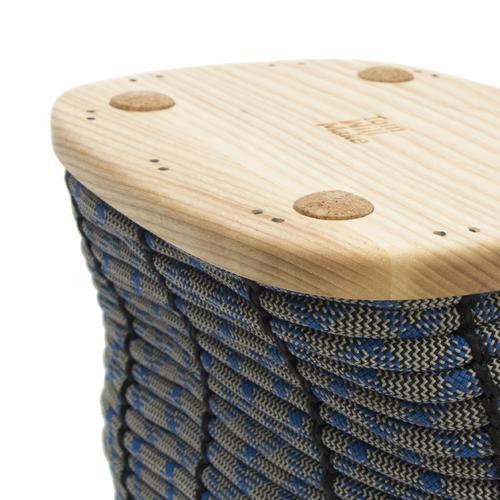 Rope Basket   60 Feet Mini   Reclaimed Rope   Tom Will Make