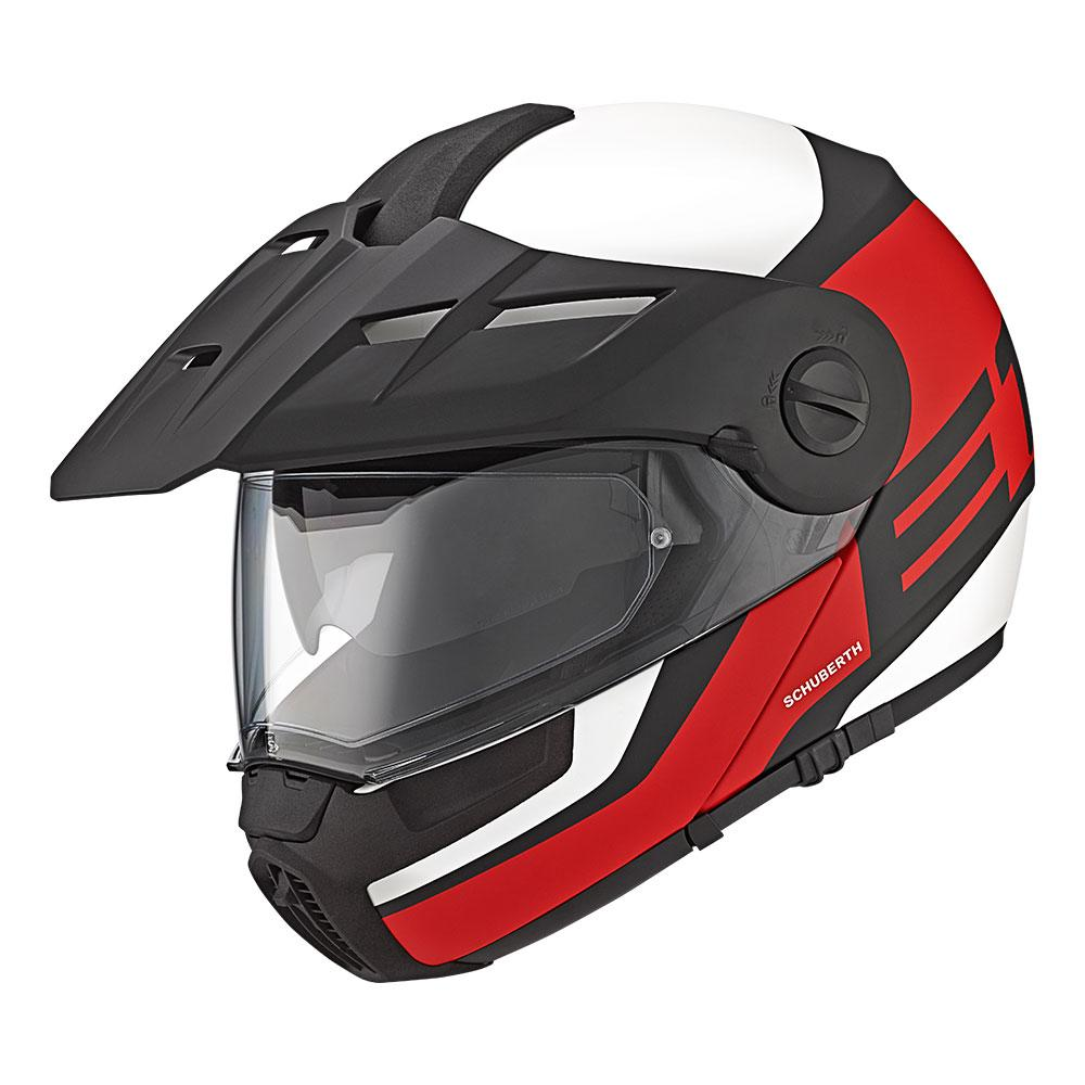 E1 | Guardian Red | Schuberth Helmets