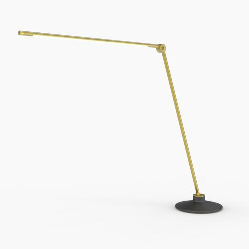 Thin T Desk Lamp | Brass