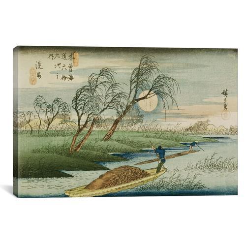 Seba by Utagawa Hiroshige Canvas Print